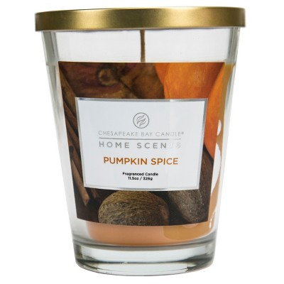 Home Scents™ Glass Tapered Jar Candle Mango Sorbet - 11.5oz
