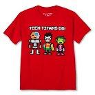 Cartoon Network® Boys' Teen Titans Graphic T-Shirt Red