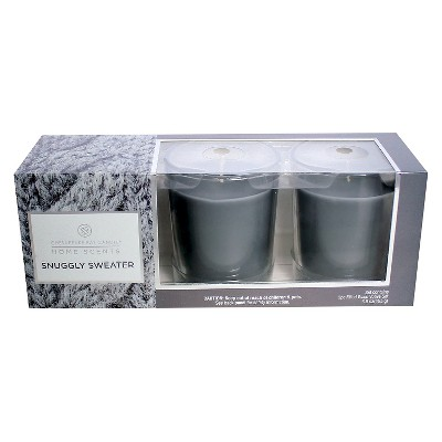 Home Scents™ Votive Candle Gift Set Tahitian Vanilla -  3pk