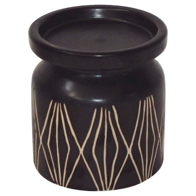 Threshold™ Earthenware Stuart Pillar Candle Holder - Medium