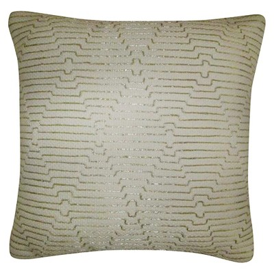 Threshold Zari Emroidery Decorative Pillow - Gold