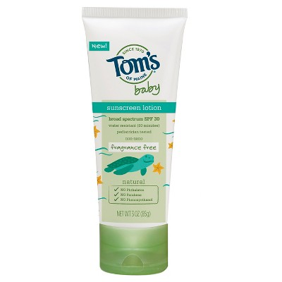 Tom's of Maine 3 oz Sunscreen