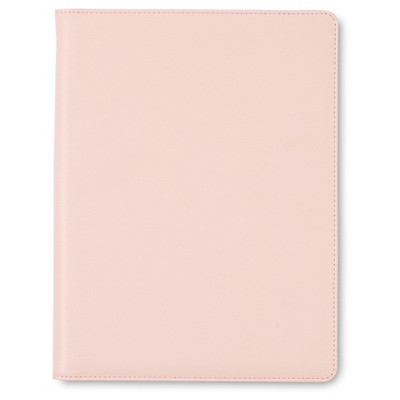 "Sugar Paper® Padfolio, 8.5"" x 11"" - Blush Faux Leather"