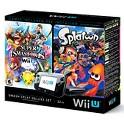 Nintendo Wii U Deluxe w/Splatoon & Super Smash Bros
