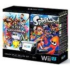 Nintendo Wii U Deluxe Set - Includes Splatoon and Super Smash Bros