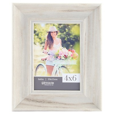 "Pinnacle Frames 4""x6"" Frame - Whitewash"