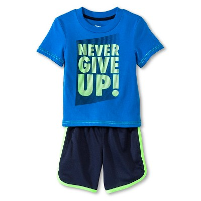Toddler Boys' Top And Bottom Set - Electric Blue 12M - Circo™