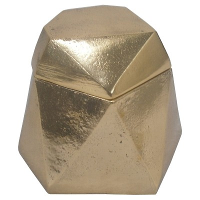 Nate Berkus™ Gold Gem Decorative Box