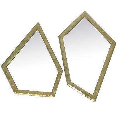 Nate Berkus Asymmetrical Mirror set/2