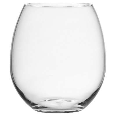 Oenophilia Plastic BPA Free, Stemless Drinkware, Set of 6
