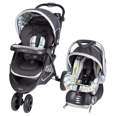 Baby Trend Nexton Travel System - Phunk Plaid