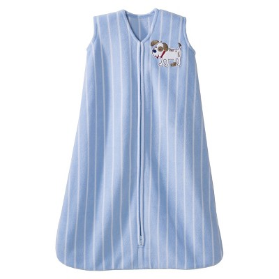 HALO SleepSack Micro-Fleece Wearable Blanket - Baby Blue - Small