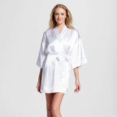 Women's Bridal Robe True White M/L - Gilligan & O'Malley™