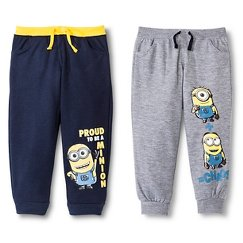 Toddler Boys' Minions 2 Pack Lounge Pant