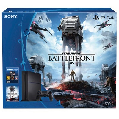 PlayStation® 4 Star Wars™ Battlefront™ 500GB Bundle