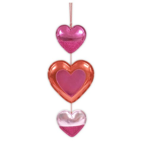 Valentine 39 S Day Triple Heart Hanging D Cor Spr Target