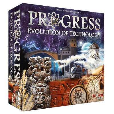 Progress Evolution of Technology Board Game