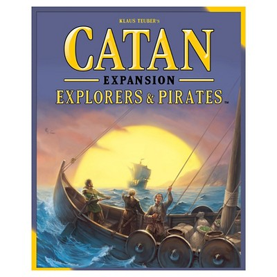 Catan Strategy Board Game Explorers & Pirates Fifth Edition Expansion Pack