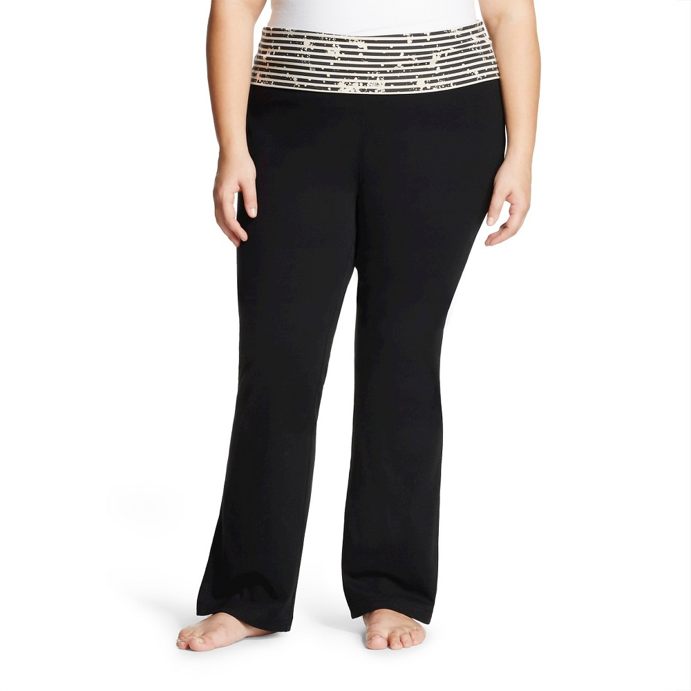 MOSSIMO SUPPLY CO. WOMEN'S PLUS SIZE BOOTCUT YOGA PANT