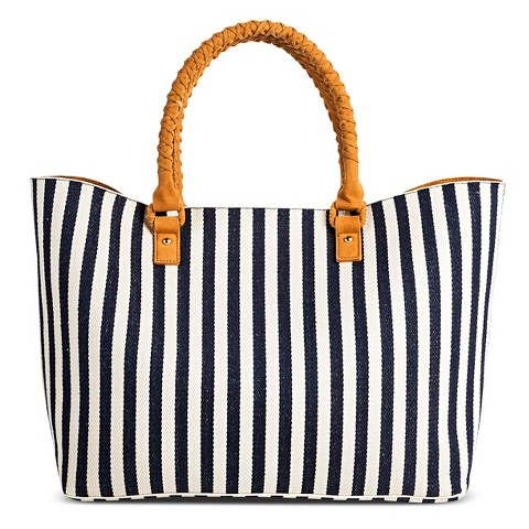 Women's Canvas Stripe Tote-Merona™