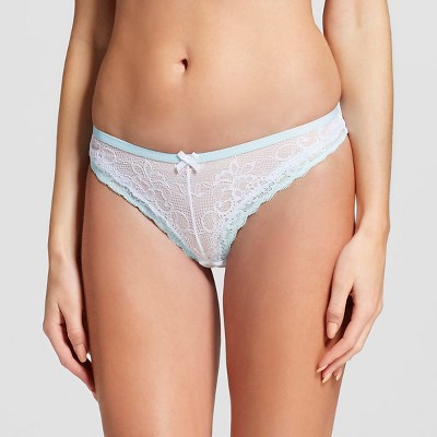 Women's Lace Thong True White S - Gilligan & O'Malley™