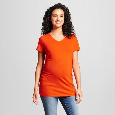 Maternity T-Shirt Orange  - M - Liz Lange® for Target