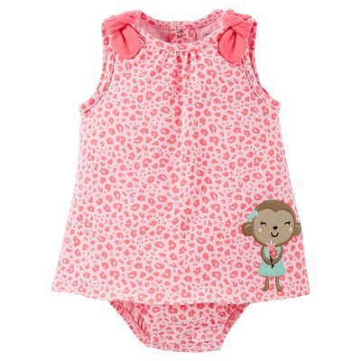 Just One You™ Made by Carter's® Newborn Girls' Sundress - Pink 9M