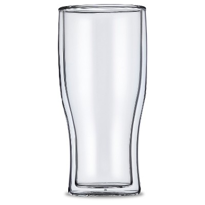 Casa Bellante 16oz Double-wall Beer Glass - Set of 4