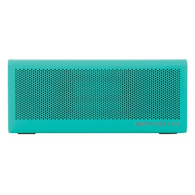 Braven 805 Portable Wireless Speaker - Teal with Gray end caps (4400mA battery)