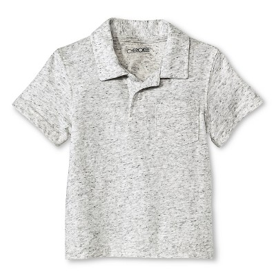 Toddler Boys' Polo Shirt Gray 12M - Cherokee®
