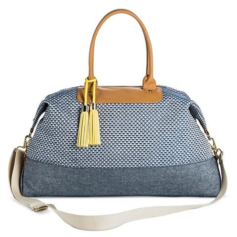 Women's Jacquard Weekender Duffle Handbag - Merona™