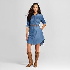 Blue Jean Dress - Dress Xy