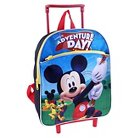"Disney Mickey Mouse Rolling Backpack - Blue (12"")"