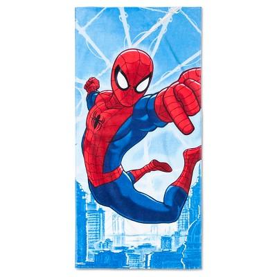 License Spiderman Beach Towel