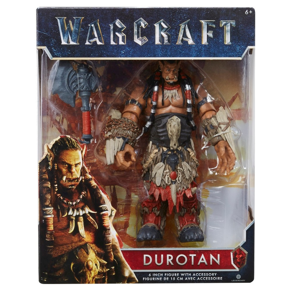 World of Warcraft Durotan Figure with Accessory 6