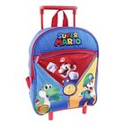 "Nintendo 12"" Super Mario Rolling Kids Backpack - Red"