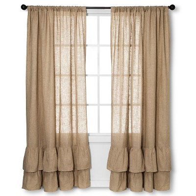 Curtain Panels homethreads NATURA Solid
