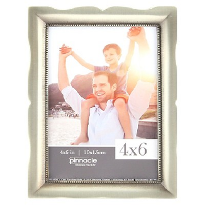 "Pinnacle Frames 4""x6"" Frame - Pewter"