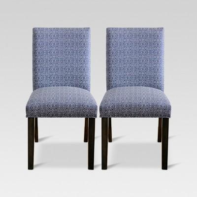 Parsons Dining Chair - Priya Blue (Set of 2) - Threshold™