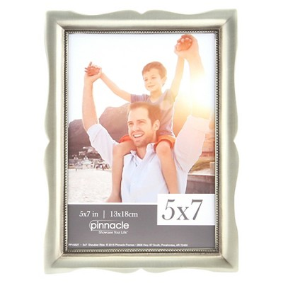 "Pinnacle Frames 5""x7"" Scoop Frame - Pewter"