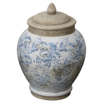 """Terra Cotta Jar (9""""L)"""