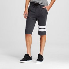 Modern Threads by Well Versed - Men's Athletic Stripe Knit Sweat Shorts
