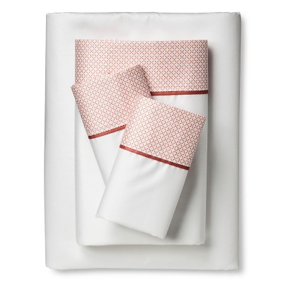 Performance Sheet Set - Coral Hem (Queen) - Threshold™