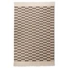 Mudhut™ Wool Flatweave Arrow Rug - Gray