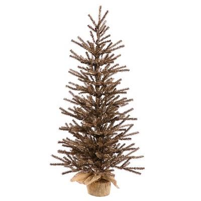 "30"" Tree Burlap Base 269Tips - Chocolate"