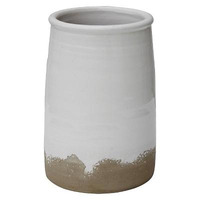"Round Terra Cotta Cache Pot (7-1/2"")"