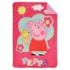 Peppa Pig Toddler Plush Blanket - Pink
