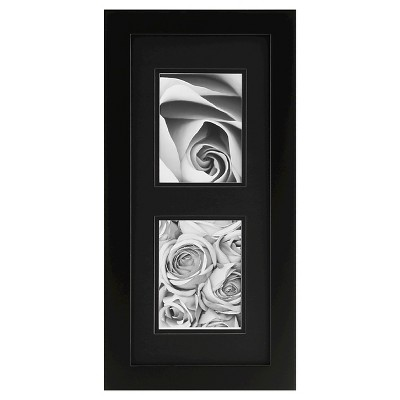 "Gallery Solutions 2 Openings 5""x7"" Frame - Black"