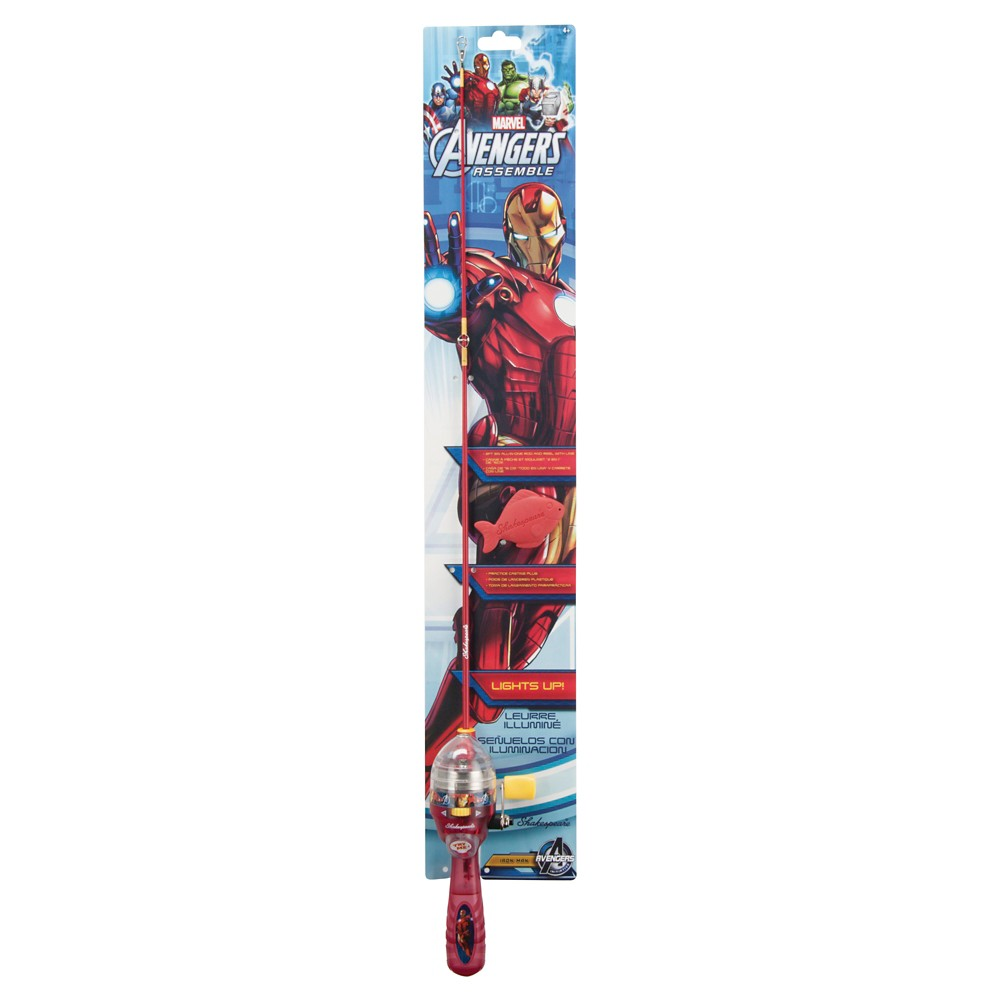 Shakespeare Ironman Lighted Kit, Red