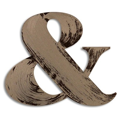 Letter2Word Hand Painted & 3D Wall Sculpture - Nickel